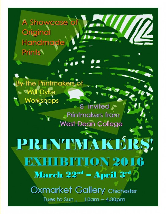 Printmakers exhibition, Chichester